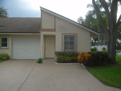 Boca Raton Single Family Home For Sale: 8700 Jasmine Way #B