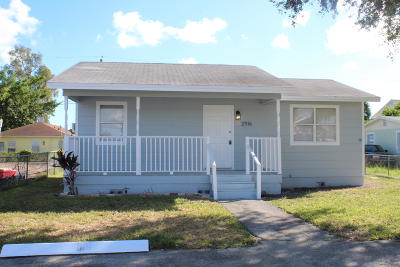 West Palm Beach Single Family Home For Sale: 2916 Saginaw Avenue