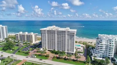 Palm Beach County Condo For Sale: 2000 S Ocean Blvd #8 D