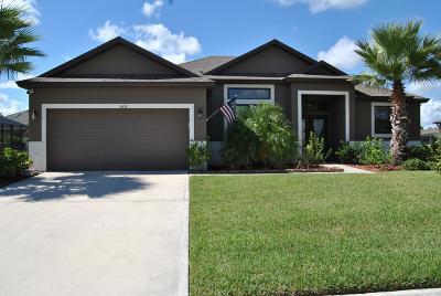 Vero Beach Single Family Home For Sale: 4638 Ashley Lake Circle