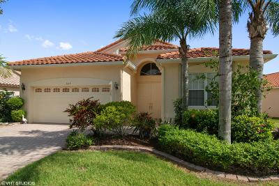 Port Saint Lucie, Saint Lucie West Single Family Home For Sale: 345 NW Toscane Trail