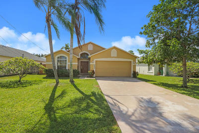Jupiter FL Single Family Home For Sale: $349,000