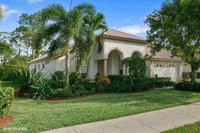 Palm Beach Gardens Single Family Home For Sale: 206 Bent Tree Drive