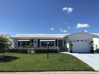 Boynton Beach Single Family Home For Sale: 1504 SW Nicholas Drive