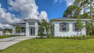 Port Saint Lucie, Saint Lucie West Single Family Home For Sale: 1771 SW Whipple Avenue
