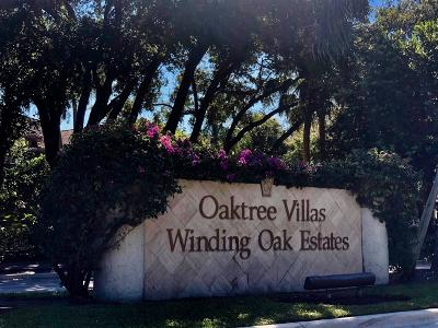 Wellington Single Family Home For Sale: 2864 Winding Oak Lane #C