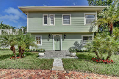 West Palm Beach Single Family Home For Sale: 345 Marlborough Place