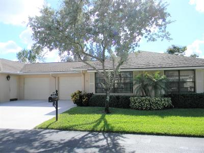 Boynton Beach FL Single Family Home For Sale: $170,000