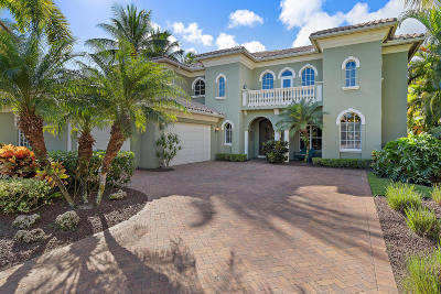 Palm Beach Gardens Single Family Home For Sale: 4120 Venetia Way