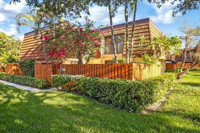 Jupiter Townhouse For Sale: 3233 32nd Court
