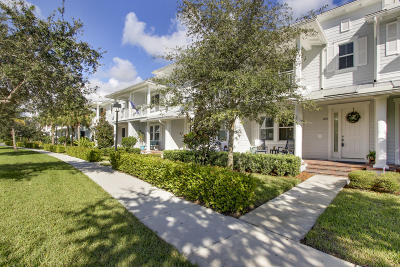 Jupiter Townhouse For Sale: 1173 Dakota Drive
