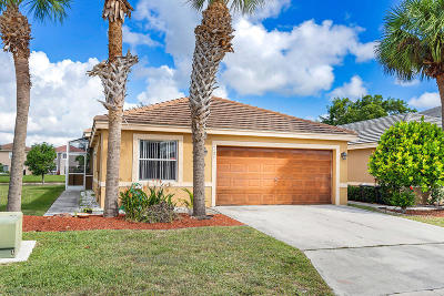 Lake Worth Single Family Home For Sale: 6121 Spring Isles Boulevard
