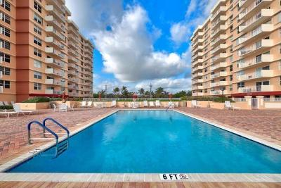 Highland Beach Condo For Sale: 4511 S Ocean Boulevard #203