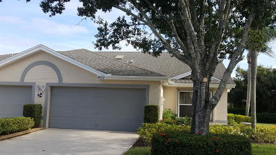 Port Saint Lucie, Saint Lucie West Single Family Home For Sale: 4253 SE Home Way