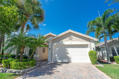 Delray Beach Single Family Home For Sale: 7337 Cortes Lake Drive