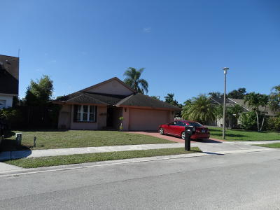 West Palm Beach Single Family Home For Sale: 5084 Willow Pond Road W