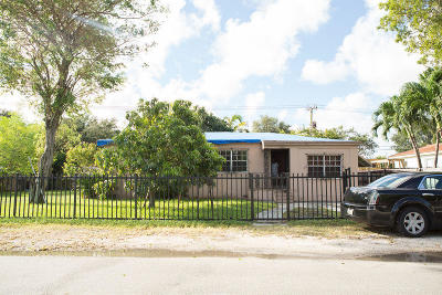 Miami Single Family Home For Sale: 740 NW 145th Terrace