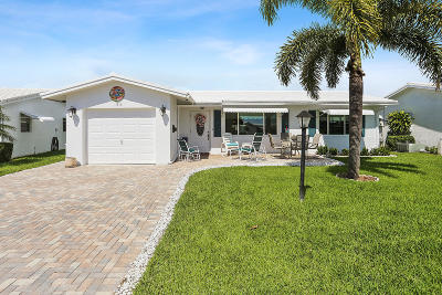Boynton Beach Single Family Home For Sale: 1711 SW 19th Court