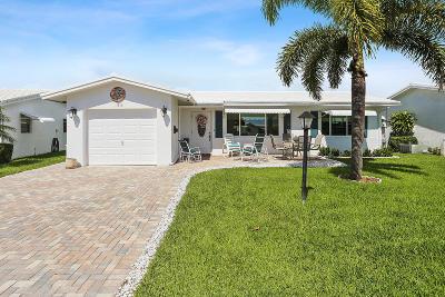 boynton beach Single Family Home For Sale: 1711 SW 19th Court
