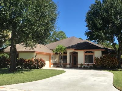 Palm City Single Family Home For Sale: 1853 SW Autumnwood Way