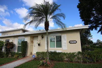 Delray Beach Single Family Home For Sale: 13608 Via Flora #D