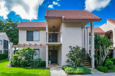 Boynton Beach Condo For Sale: 5771 Fairway Park Court #101