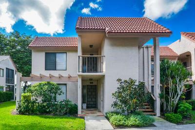 Boynton Beach, West Palm Beach Condo For Sale: 5771 Fairway Park Court #101