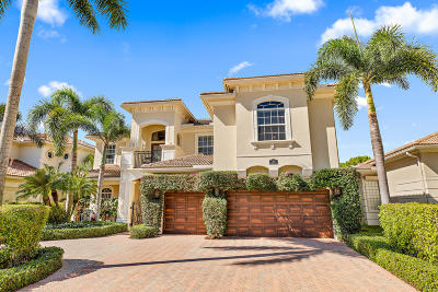 Palm Beach Gardens Single Family Home For Sale: 305 Charroux Drive