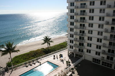 Highland Beach Rental For Rent: 3215 S Ocean Boulevard #707