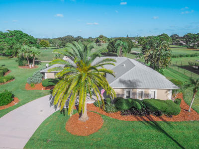 Port Saint Lucie, Saint Lucie West Single Family Home For Sale: 2885 SE Pine Valley Street