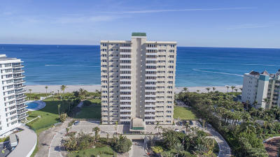 Palm Beach County Condo For Sale: 750 S Ocean Boulevard #6-N