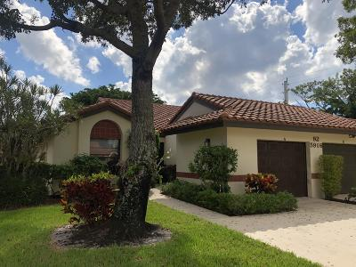 Boynton Beach Single Family Home For Sale: 5916 Sunswept Lane #A