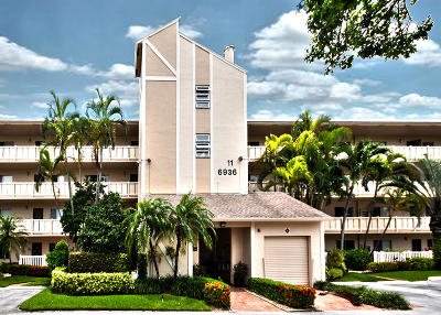 Delray Beach Condo For Sale: 6936 Huntington #107