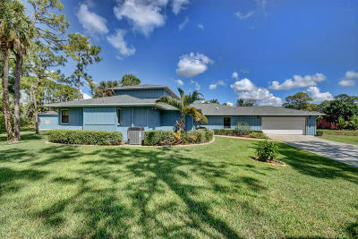West Palm Beach Single Family Home For Sale: 11289 Orange Grove Boulevard