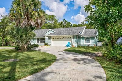 Jupiter Single Family Home For Sale: 12397 157th Street
