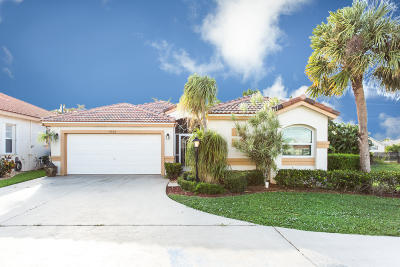 Lake Worth Single Family Home For Sale: 4008 Summer Chase Court