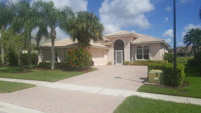 Boynton Beach Single Family Home For Sale: 8938 Via Tuscany Drive