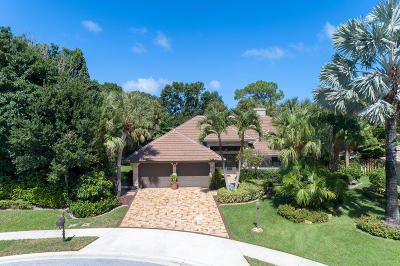 Palm Beach Gardens Single Family Home For Sale: 2801 Bayonne Drive