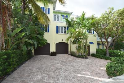 Delray Beach Townhouse For Sale: 1216 George Bush Boulevard #2