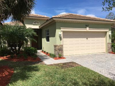 Port Saint Lucie, Saint Lucie West Single Family Home For Sale: 9612 SW Flowermound Circle