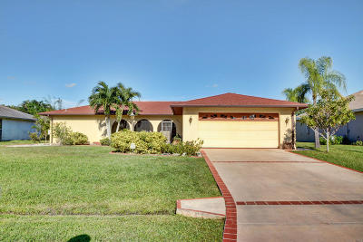 Port Saint Lucie, Saint Lucie West Single Family Home For Sale: 2001 SW Gemini Lane