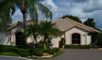 Boynton Beach Single Family Home For Sale: 10509 Lexington Circle S