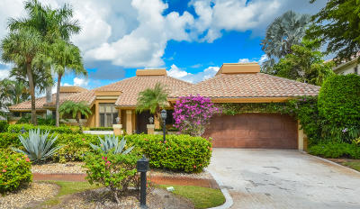 Boca Raton Single Family Home For Sale: 17112 Northway Circle