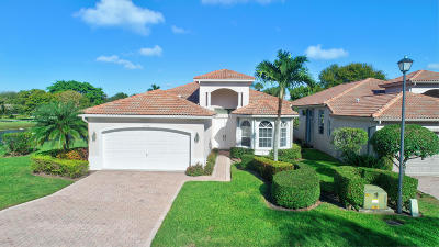 Boynton Beach Single Family Home For Sale: 11542 Green Golf Lane