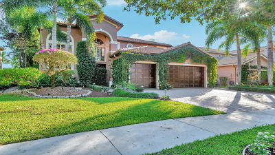 Delray Beach Single Family Home For Sale: 9767 Savona Winds Drive