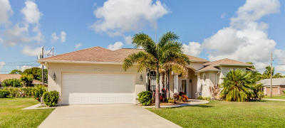 Port Saint Lucie, Saint Lucie West Single Family Home For Sale: 1602 SE Ridgewood Street
