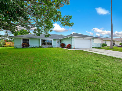 Royal Palm Beach Single Family Home Contingent: 126 La Mancha Ave