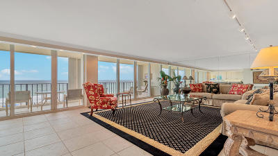 Palm Beach County Condo For Sale: 2800 S Ocean Boulevard #5-K