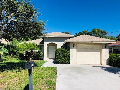 Lake Worth Single Family Home For Sale: 710 Washington Avenue