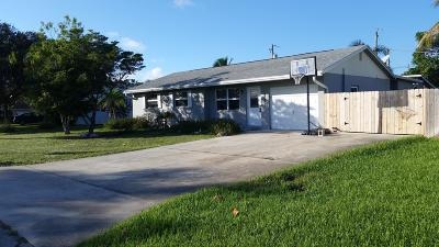 Tequesta FL Single Family Home For Sale: $314,500